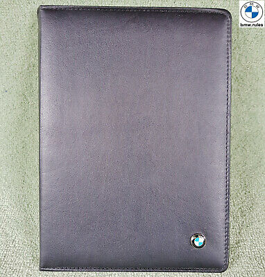 12 File Page Genuine OEM BMW Owners Document Folder Divider Document Records