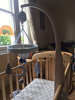 Mamas and Papas Musical cot mobile 'Little Forest Blue'