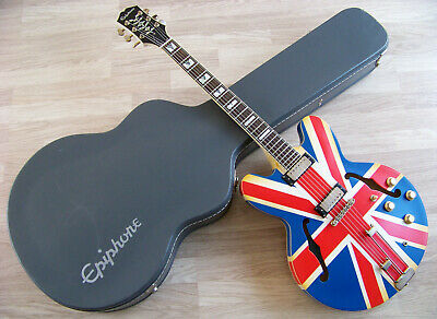 TPP Noel Gallagher / Union Jack Epiphone 1962 Sheraton Outfit Tribute Custom VOS