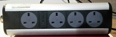 Reduced for a week Powerlogic Optima Power System Desk Mounted Power Sockets