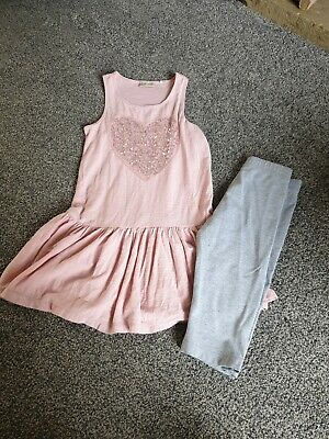 girls Next & M&S summer outfit age 7