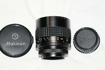 Makinon 300mm f5.6 Compact Mirror Lens   Excellent Condition   PK Mount