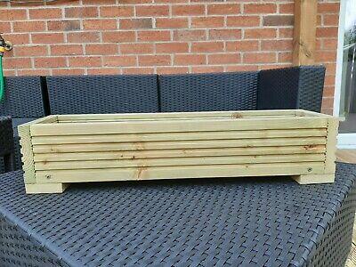 Wooden Decking Planter, Plant Box