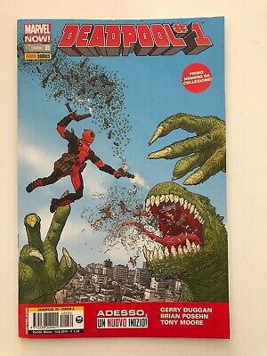 Marvel Panini Comics Deadpool 1 #32 Cover A Fumetto Italiano Nuovo