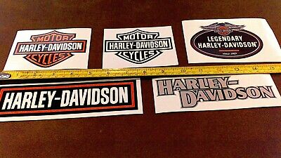 LOT of 10 Harley Davidson stickers for car truck Bike Helmet tool box Free Ship