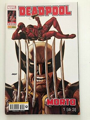 Marvel Panini Comics Deadpool Morto 24  1 Di 3 Fumetto Italiano Nuovo