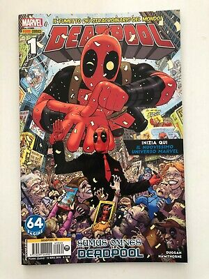 Marvel Panini Comics Deadpool 1 #60 Fumetto Italiano Nuovo
