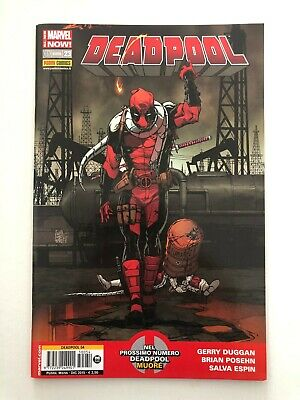 Marvel Now Panini Comics Deadpool 23 #54 Fumetto Italiano Nuovo