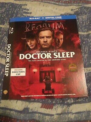 Doctor Sleep bluray slipcover ONLY!!!!