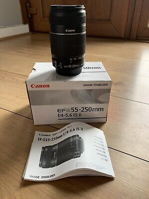 Canon EFS 55-250mm F/4-5.6 II IS Lens - PLEASE READ DESCRIPTION