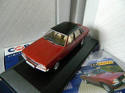Vanguards Corgi VA11910A Ford Cortina MK4 2.0 Ghia Jupiter Red