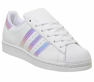 WOMENS ADIDAS SUPERSTAR Gs Trainers