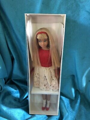 1963- VINTAGE Blonde SKIPPER DOLL-NO-0950-STRAIGHT LEG - One Owner -Keepsake Box