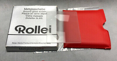 Rollei Rolleiflex Ground Glass Screen in box 97% condition