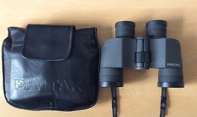 Pentax 8 X 40 Binoculars with Case + 4 lens caps