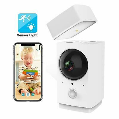 Wireless Smart Home Security IP Camera Rreslicam 1080p Pan Tilt Zoom WiFi NEW