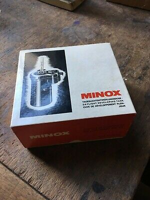 Minox Minature Camera Daylight Developing Tank in Box with Instructions