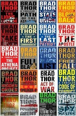 The Complete Brad Thor - Scot Harvat Audiobooks Collection 📧 Email Delivery 📧