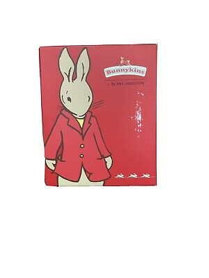 Bunnykins By Royal Doulton Picture Silver Plated Frame 3 1/2 X 5