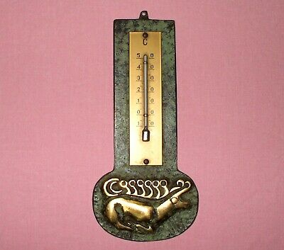 Thermometer  Bronze Messing