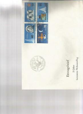 585876 / Ddr Fdc Viererblock Space
