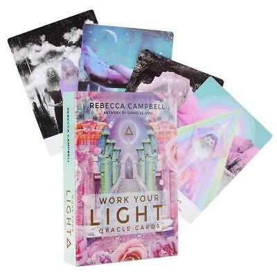 Work Your Light Oracle Cards Tarot Deck 44 Cards Divination Prophet Cards