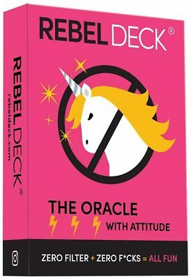 Rebel Deck The Oracle Deck with Attitude 60 Cards Tarot Divination Prophet Cards