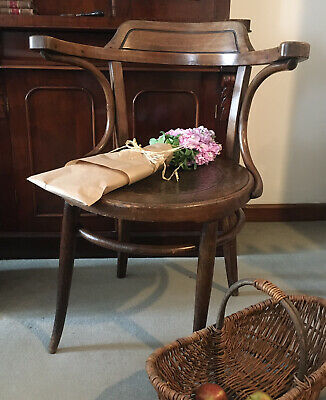 Antique (early 1900s) Bentwood Bistro Chair By Jacob & Josef Kohn