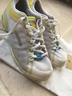 Adidas Stella McCartney Tennis Trainers Heart Detail With Dustbag 38 5