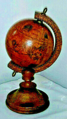 Old World Globe  Made In Italy  late 1960s