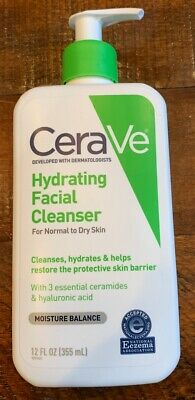 Single size CERAVE HYDRATING FACIAL CLEANSER FOR NORMAL/DRY SKIN 12 OZ EACH
