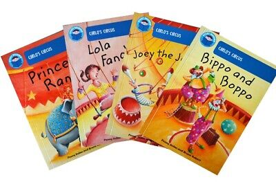 Start Reading Collection - Carlo's Circus (5-6 years) [4 book set]