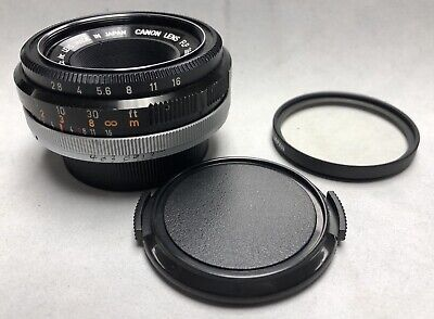 Canon FLP 38mm f2.8  pancake lens for Pellix 80% clean optic perfect working
