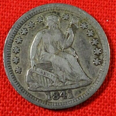1841-P Silver Liberty Seated Half Dime - Full Liberty