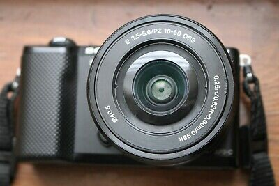 Sony Alpha Alpha A5000 20.1MP Digital Camera - Black 16-50mm Lens