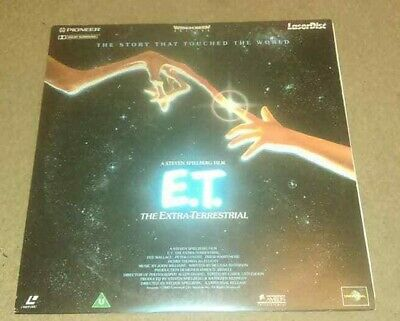Laserdisc Of E.t. The Extra-Terrestrial Pal Stereo Laser Disc Mint Condition