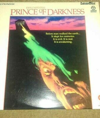 A Laserdisc Of Prince Of Darkness Pal Stereo Laser Disc Very Good Condition