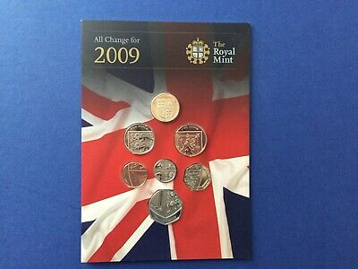 Royal Mint 2009 Coin Set brilliant uncirculated