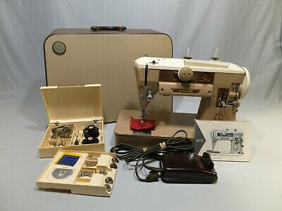 Vintage Singer 401A Sewing Machine, Beautiful Original Condition, FULLY SERVICED