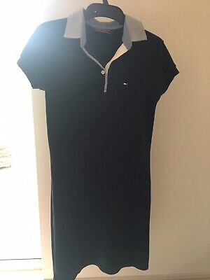 Tommy Hilfiger 'Styled As' Navy Dress Polo Style Womens And Older Girls S/M