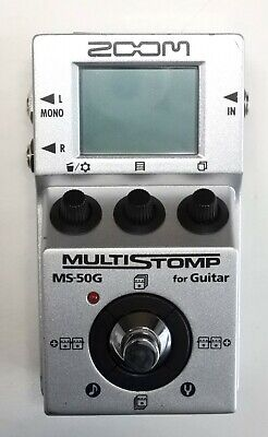 ZOOM MS-50G Multi Stomp Guitar Effects Pedal #3 DHL Express or EMS