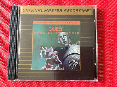 queen news of the world Mfsl Gold Cd Like New