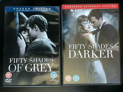 Fifty Shades: 2-Movie Collection (DVD, 2017, 2-Disc Set)