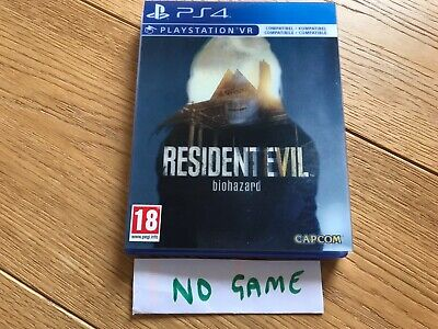 Limited Edition RESIDENT EVIL 7 BIOHAZARD LENTICULAR PS4 SLEEVE NO GAME INCLUDED