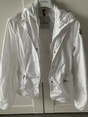 Moncler Girls White Jacket  - Age 12