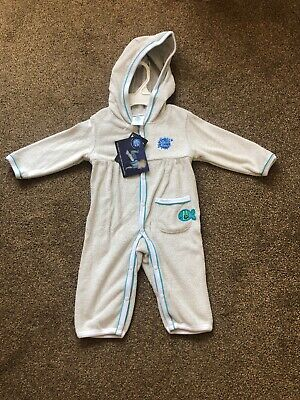 Splashabout Hooded Baby Towel Bath Robe Dressing Gown 3-6 Mths