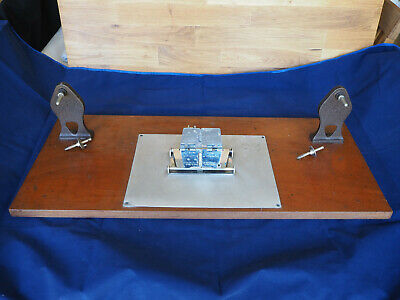 Ensign Universal Film Splicer on stand - 16mm / 9.5mm / 8mm