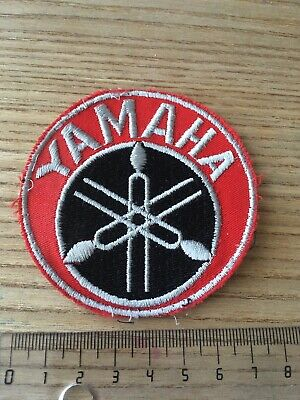 Aufnäher Patch Logo Weste Vintage Overall Youngtimer Sponsor Yamaha Racing