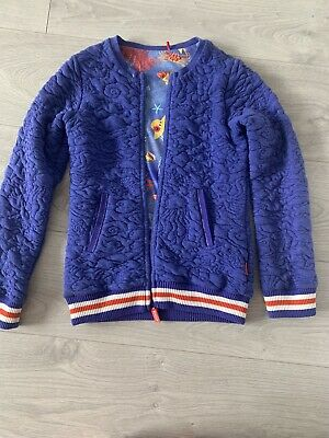 Oilily Girls Blue Casual Jacket - Age 10