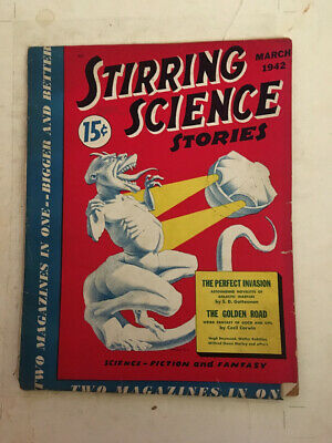Stirring Science Stories March 1942